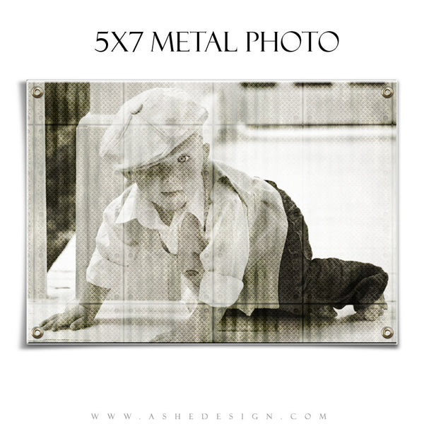Designer Gems Photography Elements | Metal Photo Frame 5x7