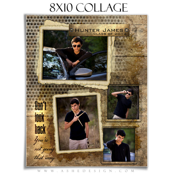 Hunter James 8x10 Collage Template for Photographers
