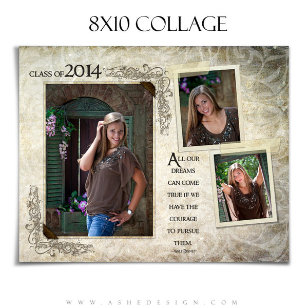 Collage Template Set 2 | Kyra Ann 8x10 collage