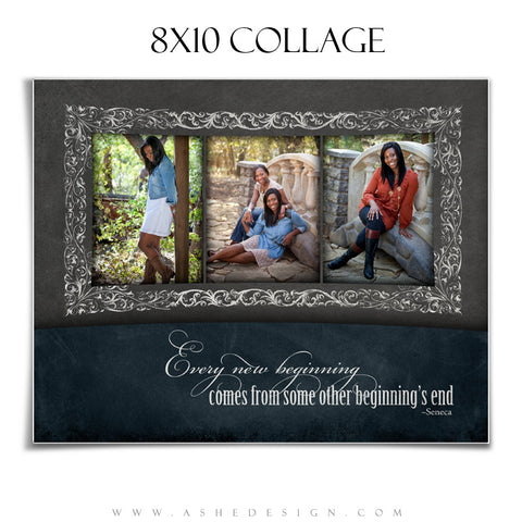 Chalkboard Senior Girl 8x10 Collage web display
