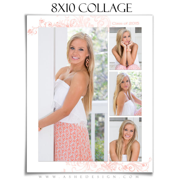Collage Template | Color Block 8x10