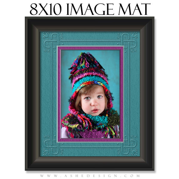 Image Mat Template | Framed 8x10