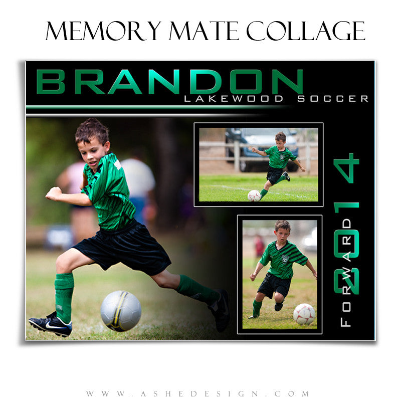 Sports Memory Mates 8x10 - Streak Of Light – AsheDesign
