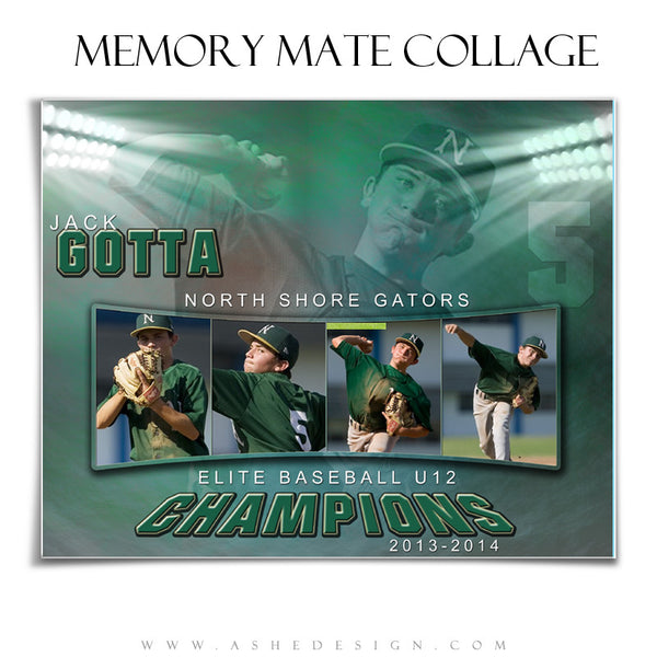 Sports Memory Mate Templates | In The Spotlight HZ