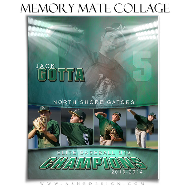Sports Memory Mate Templates | In The Spotlight VT