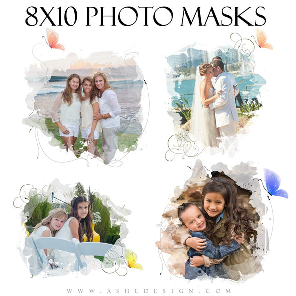 Ashe Design | Designer Gems Photo Masks | Color Wash full set