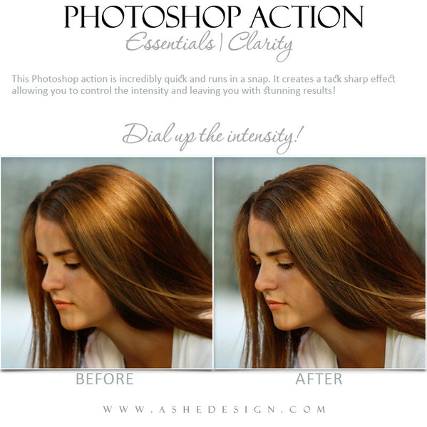Photoshop Action | Essentials - Clarity1