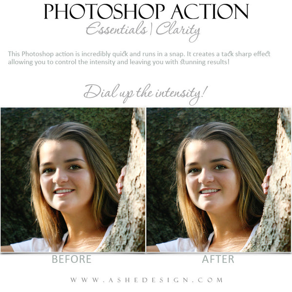Photoshop Action | Essentials - Clarity2