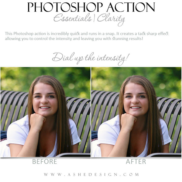 Photoshop Action | Essentials - Clarity3