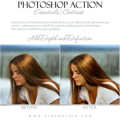 Photoshop Action | Essentials - Contrast1