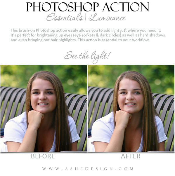 Photoshop Action | Essentials - Luminance1