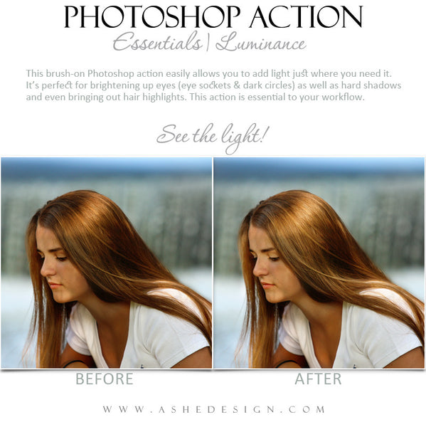 Photoshop Action | Essentials - Luminance2
