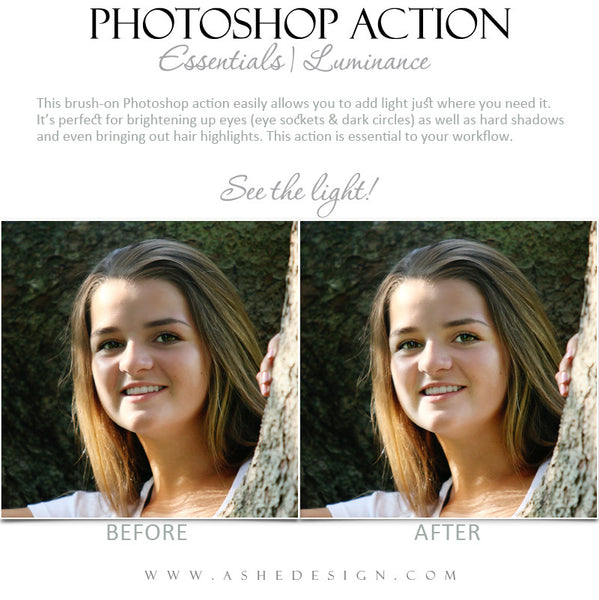 Photoshop Action | Essentials - Luminance3