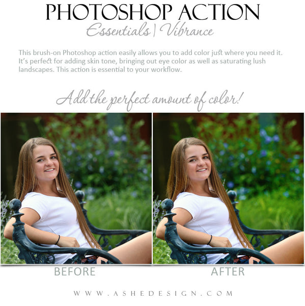 Photoshop Action | Essentials - Vibrance1