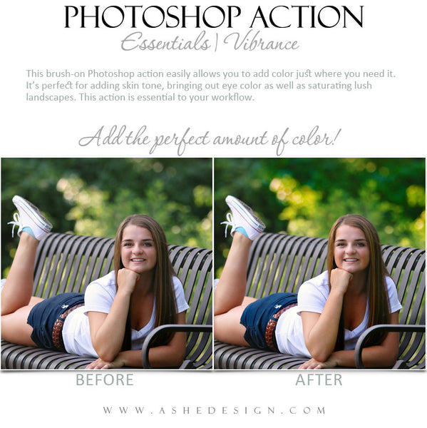 Photoshop Action | Essentials - Vibrance2