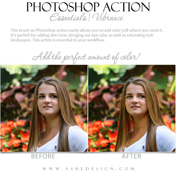 Photoshop Action | Essentials - Vibrance3