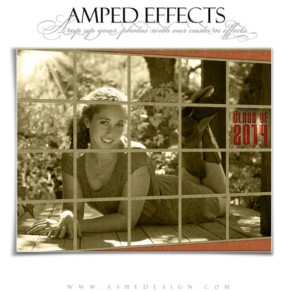 Ashe Design | Amped Effects Photography Templates | Through The Window example2