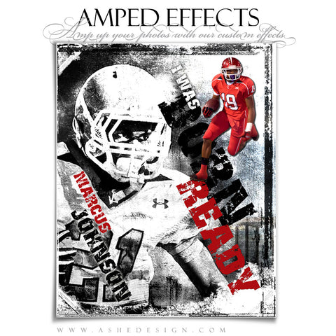 Ashe Design | Amped Effects Sports Templates | Born Ready 1
