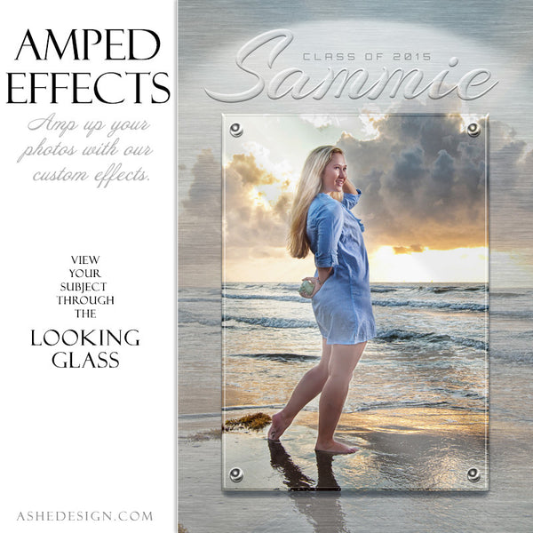 Ashe Design | Amped Effects Large Format Photography Templates | Looking Glass1