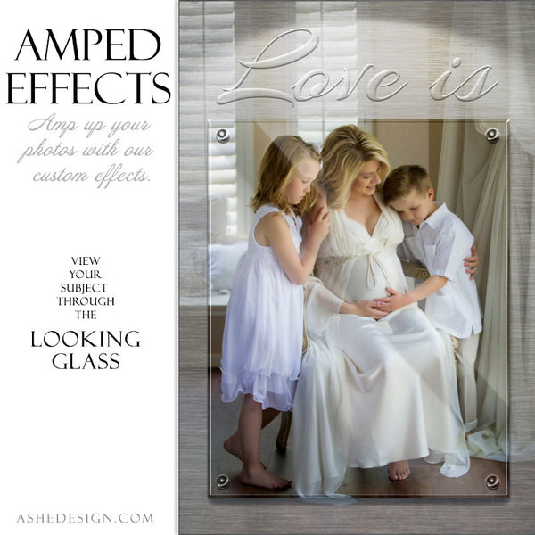 Ashe Design | Amped Effects Large Format Photography Templates | Looking Glass3