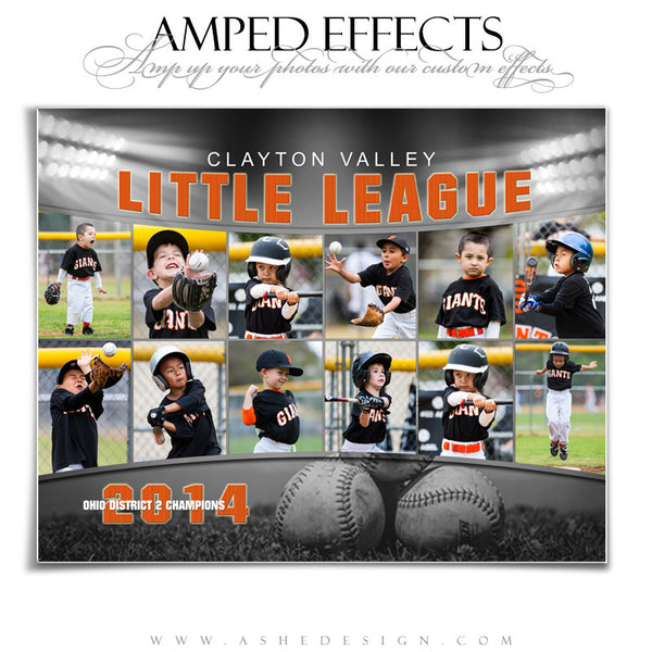 Ashe Design | Amped Effects Sports Templates | Across the Board example1 web display