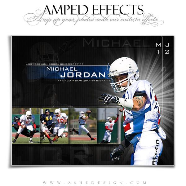 Ashe Design | Amped Effects Sports Templates | Burst On The Scene 2
