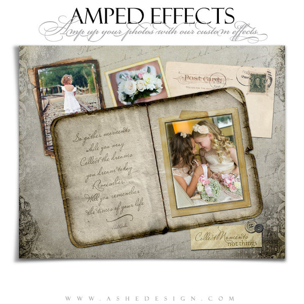 Ashe Design | Amped Effects Photography Templates | Collect Moments 8x10