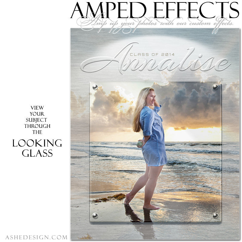 Ashe Design | Amped Effects Photography Templates | Looking Glass example1 web display