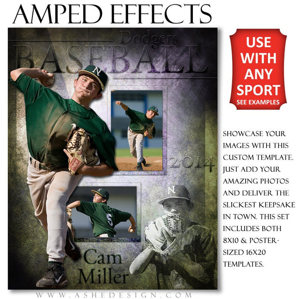Ashe Design | Amped Effects Sports Templates | Raise The Bar example1