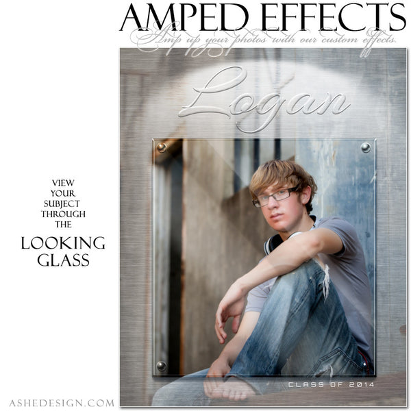 Ashe Design | Amped Effects Photography Templates | Looking Glass example2 web display