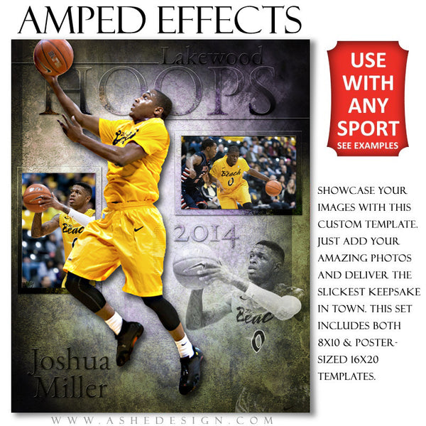Ashe Design | Amped Effects Sports Templates | Raise The Bar example2