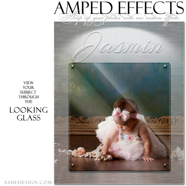 Ashe Design | Amped Effects Photography Templates | Looking Glass example3 web display
