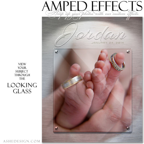 Ashe Design | Amped Effects Photography Templates | Looking Glass example4 web display