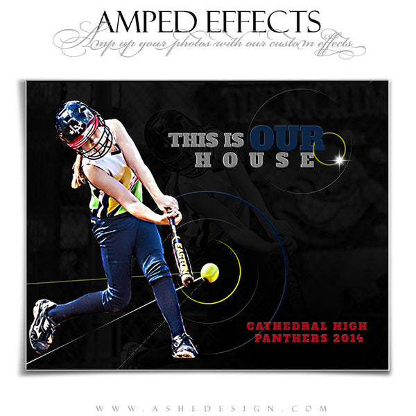 Ashe Design | Amped Effects Sports Templates | Our House 2