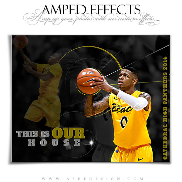 Ashe Design | Amped Effects Sports Templates | Our House 3