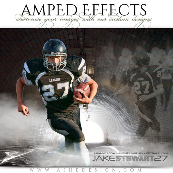 Ashe Design | Amped Effects Sports Templates | Tunnel Vision-football
