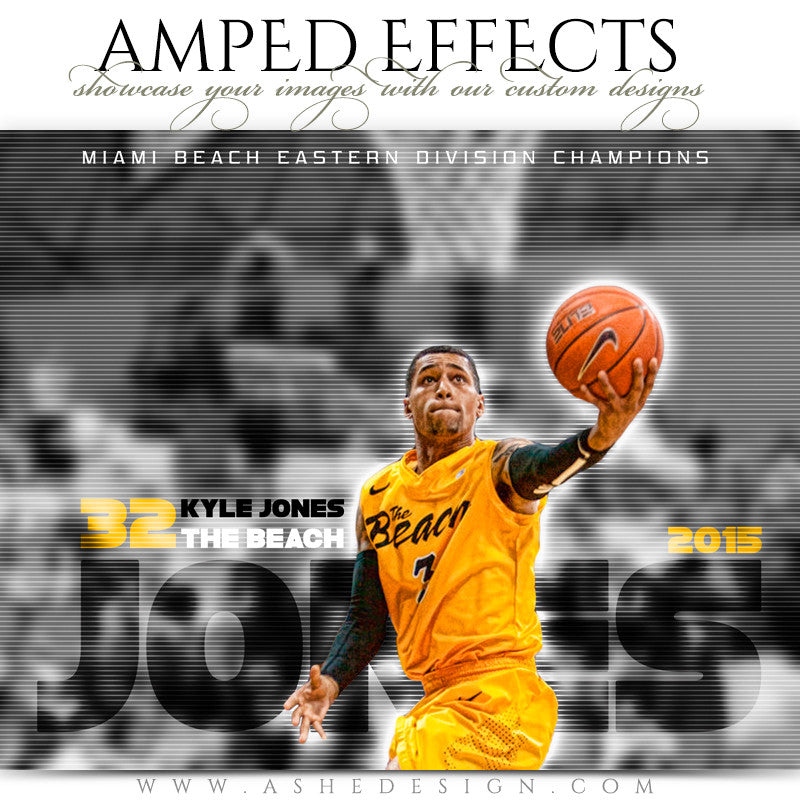 Ashe Design | Amped Effects Sports Templates | Standout