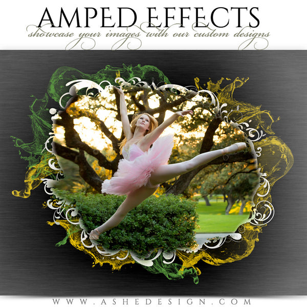 Ashe Design | Amped Effects Photography Templates | Color Splash 2