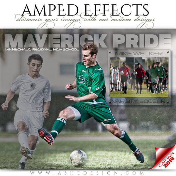 Ashe Design | Amped Effects Sports Templates | Spotlight 2