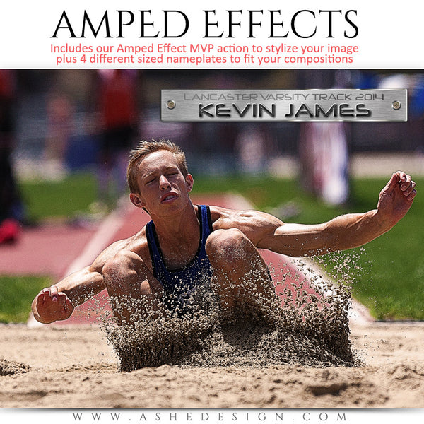 Ashe Design | Amped Effects Sports Templates | MVP | MVP 3