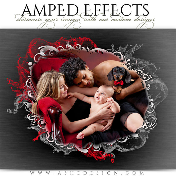 Ashe Design | Amped Effects Photography Templates | Color Splash 4