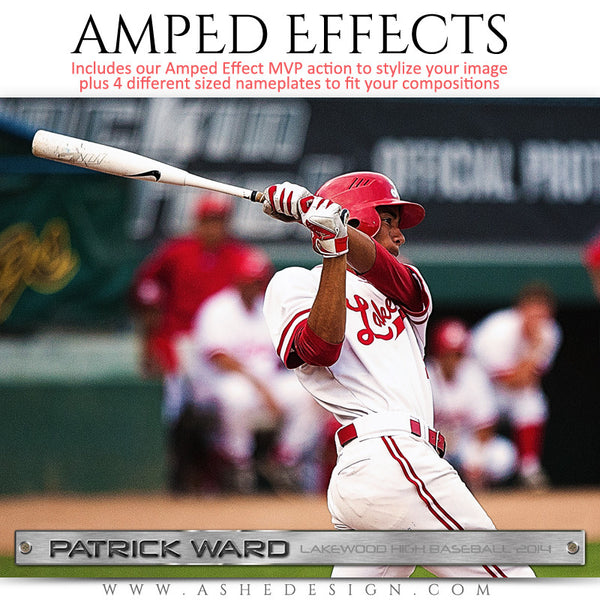 Ashe Design | Amped Effects Sports Templates | MVP | MVP 4