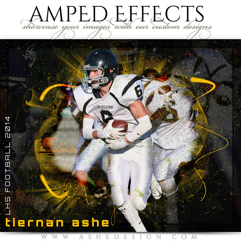 Ashe Design | Amped Effects Sports Templates | Focus