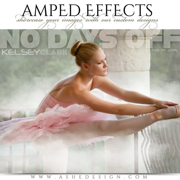 Ashe Design | Amped Effects Sports Templates | No Days Off dance