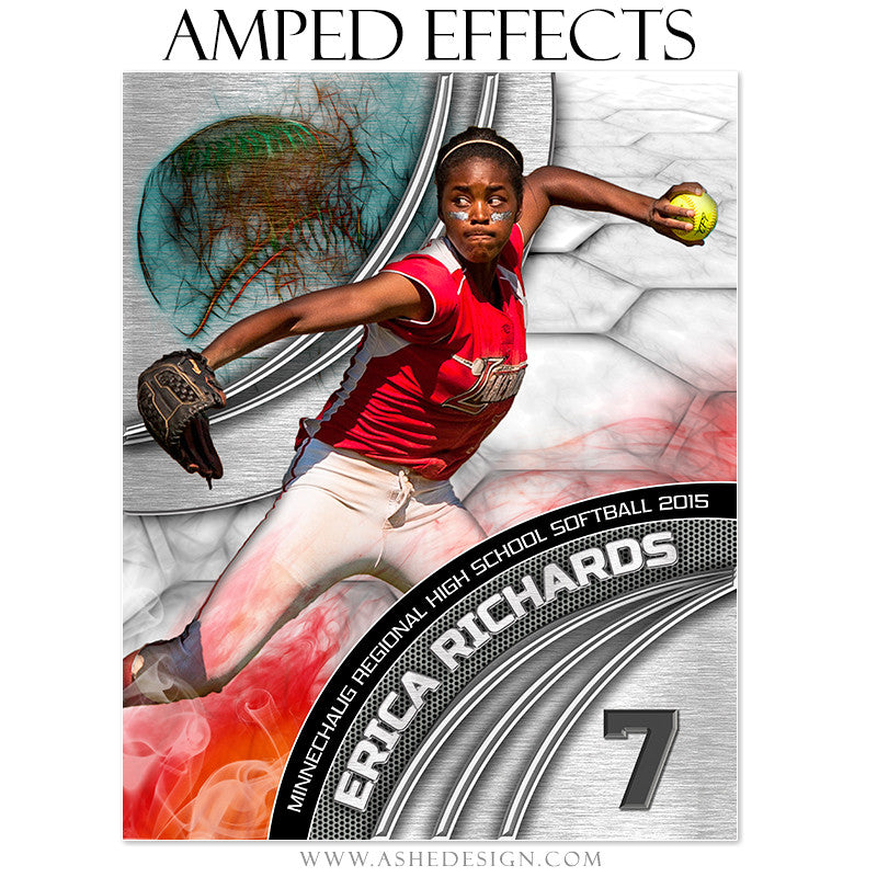 Ashe Design | Amped Effects Sports Templates | Precision Performance Baseball/Softball