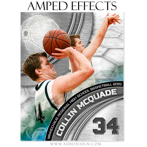 Ashe Design | Amped Effects Sports Templates | Precision Performance Basketball