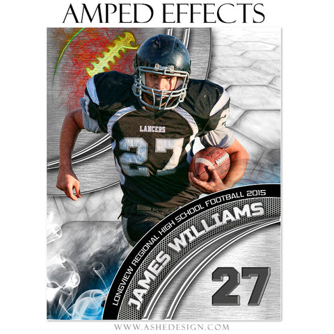 Ashe Design | Amped Effects Sports Templates | Precision Performance Football