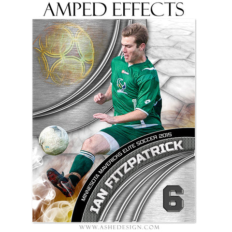 Ashe Design | Amped Effects Sports Templates | Precision Performance Soccer