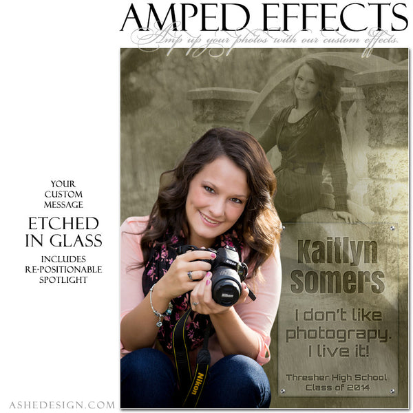 Ashe Design | Amped Effects Senior Templates | Inscription senior1 web display