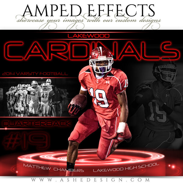 Ashe Design | Amped Effects Sports Templates | Neon Pedestal 2
